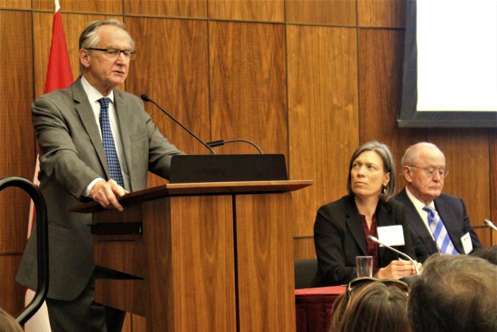 Former Supreme Court Justice Ian Binnie