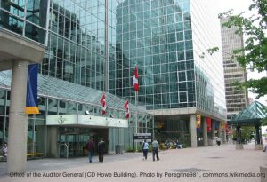 Office of the Auditor General, which has found deficiencies in risk management at Export Development Canada
