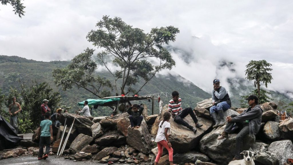 Familias desplazadas por la crisis de Hidroituango en mayo de 2018