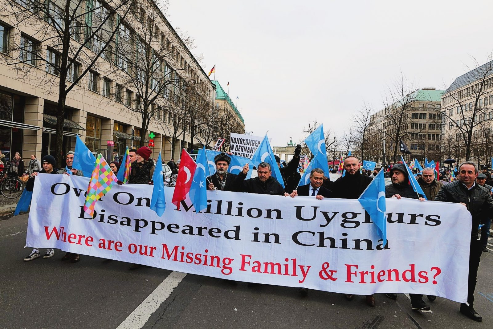 March against Uyghur genocide